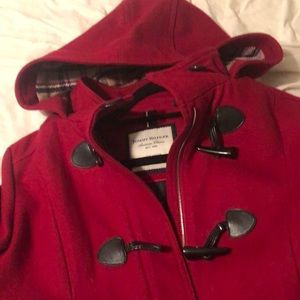 Jackets & Blazers - Tommy Hilfiger toggle coat sz large